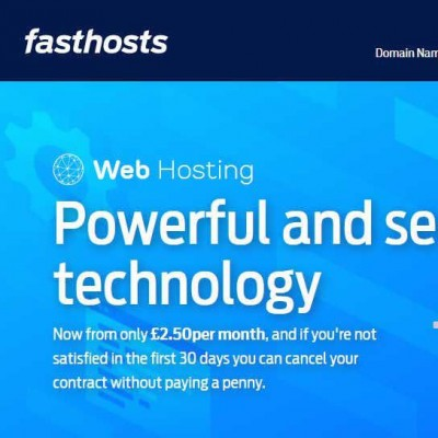 FastHosts web hosting