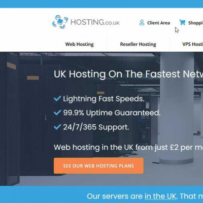 Hosting.co.uk web hosting